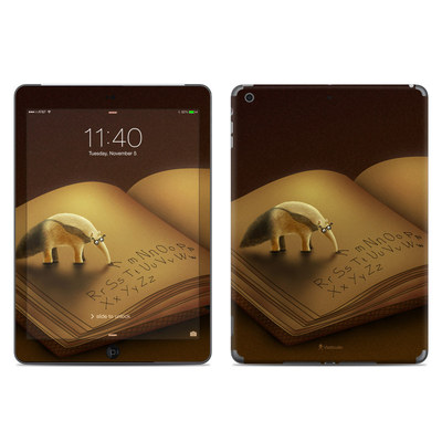 Apple iPad Air Skin - Lettereater