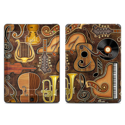 Apple iPad Air Skin - Music Elements