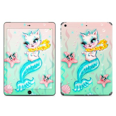 Apple iPad Air Skin - Merkitten with Lei