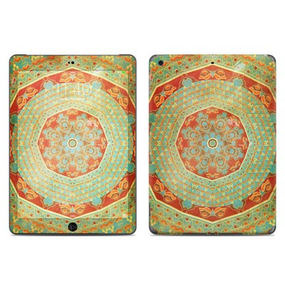 Apple iPad Air Skin - Mandala Citrus