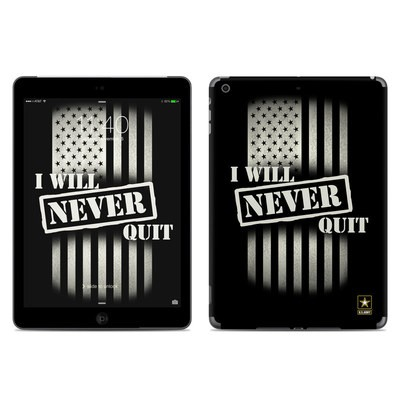 Apple iPad Air Skin - Never Quit