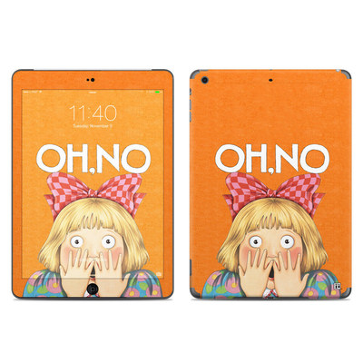 Apple iPad Air Skin - Oh No