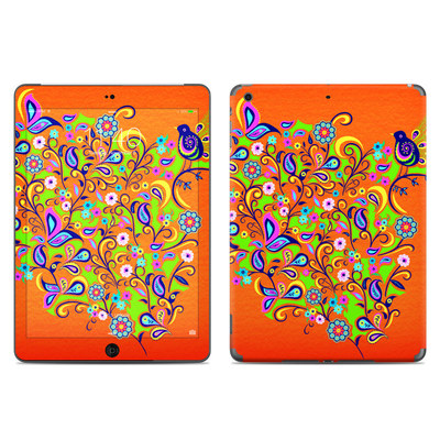 Apple iPad Air Skin - Orange Squirt