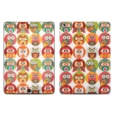 Apple iPad Air Skin - Owls Family