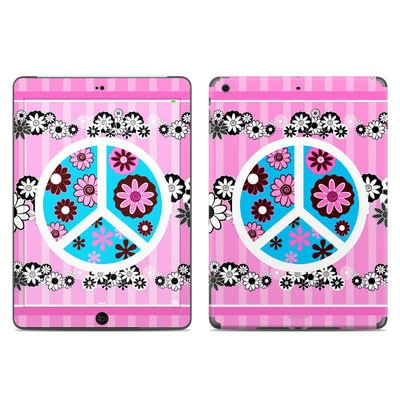 Apple iPad Air Skin - Peace Flowers Pink