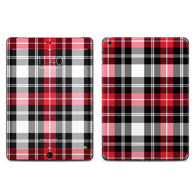 Apple iPad Air Skin - Red Plaid