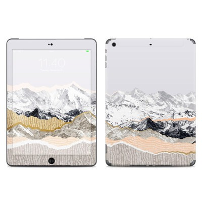 Apple iPad Air Skin - Pastel Mountains