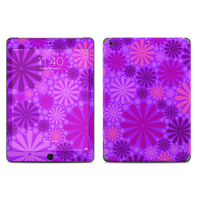 Apple iPad Air Skin - Purple Punch