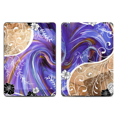 Apple iPad Air Skin - Purple Waves