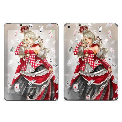 Apple iPad Air Skin - Queen Of Cards