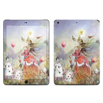 Apple iPad Air Skin - Queen of Hearts