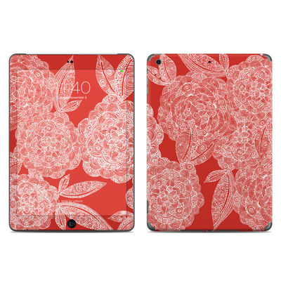 Apple iPad Air Skin - Red Dahlias