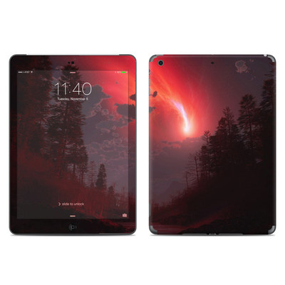 Apple iPad Air Skin - Red Harbinger