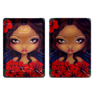 Apple iPad Air Skin - Red Hibiscus Fairy