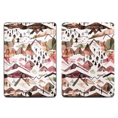 Apple iPad Air Skin - Red Mountains