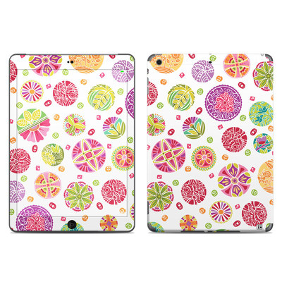 Apple iPad Air Skin - Round Flowers