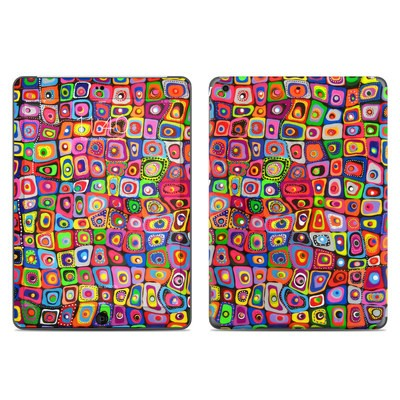 Apple iPad Air Skin - Square Dancing