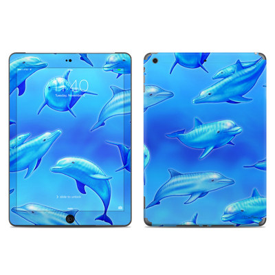 Apple iPad Air Skin - Swimming Dolphins