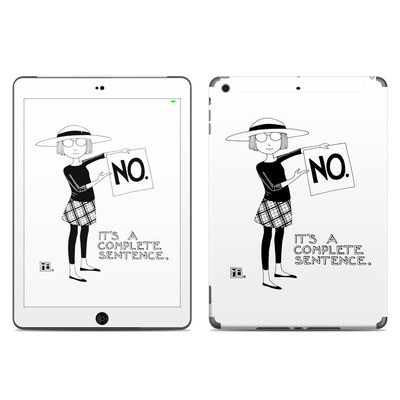 Apple iPad Air Skin - Sentence