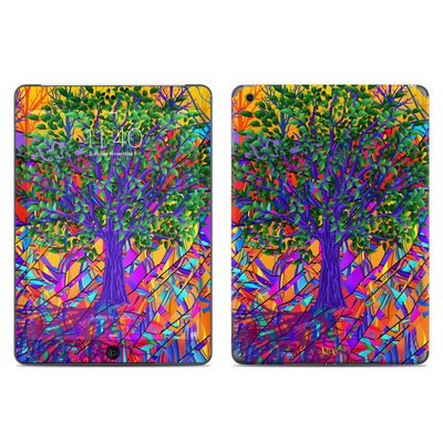 Apple iPad Air Skin - Stained Glass Tree