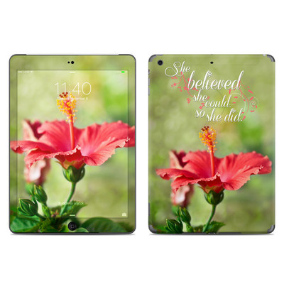 Apple iPad Air Skin - She Believed