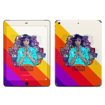 Apple iPad Air Skin - Singularity Glitch