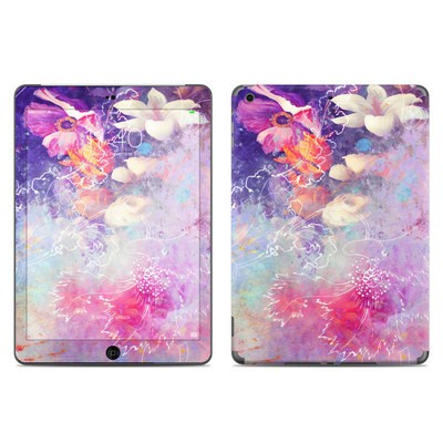 Apple iPad Air Skin - Sketch Flowers Lily