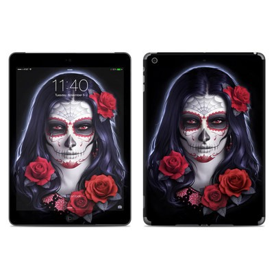 Apple iPad Air Skin - Sugar Skull Rose
