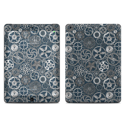Apple iPad Air Skin - Silver Gears