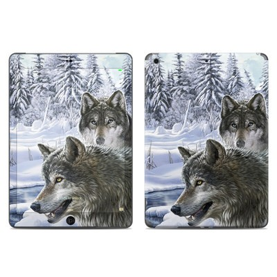 Apple iPad Air Skin - Snow Wolves