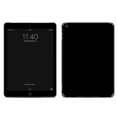 Apple iPad Air Skin - Solid State Black