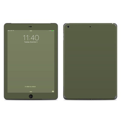 Apple iPad Air Skin - Solid State Olive Drab