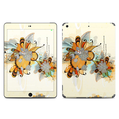 Apple iPad Air Skin - Sunset Flowers