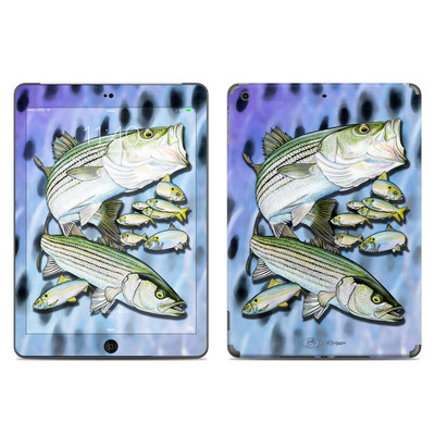 Apple iPad Air Skin - Striped Bass