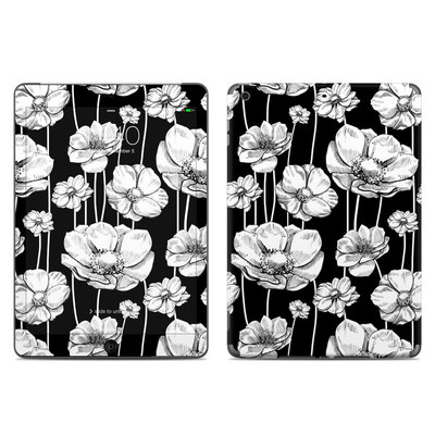 Apple iPad Air Skin - Striped Blooms