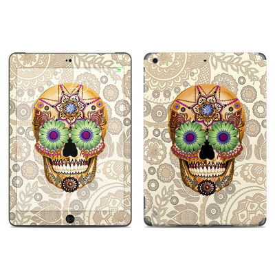 Apple iPad Air Skin - Sugar Skull Bone