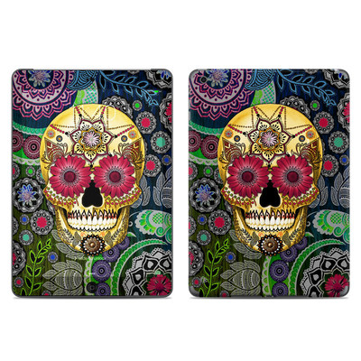 Apple iPad Air Skin - Sugar Skull Paisley