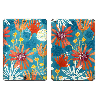 Apple iPad Air Skin - Sunbaked Blooms