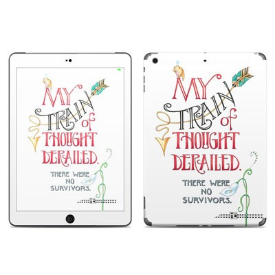Apple iPad Air Skin - Train Derailed