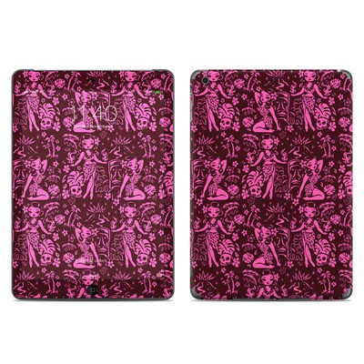 Apple iPad Air Skin - Tiki Temptress Hotpink