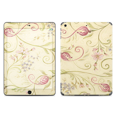 Apple iPad Air Skin - Tulip Scroll