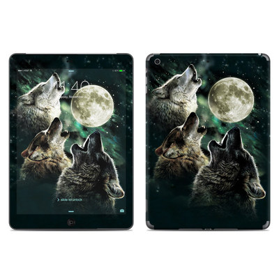 Apple iPad Air Skin - Three Wolf Moon