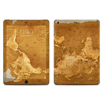 Apple iPad Air Skin - Upside Down Map