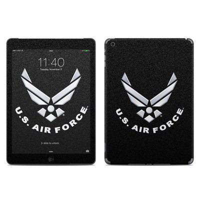 Apple iPad Air Skin - USAF Black