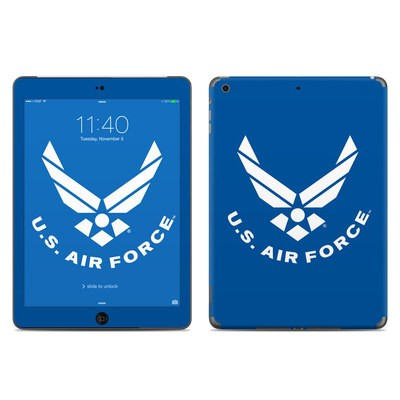Apple iPad Air Skin - USAF Blue