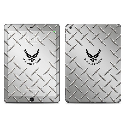 Apple iPad Air Skin - USAF Diamond Plate
