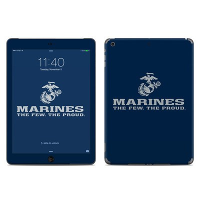 Apple iPad Air Skin - USMC Blue