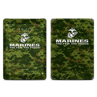 Apple iPad Air Skin - USMC Camo