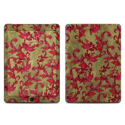 Apple iPad Air Skin - Vintage Scarlet