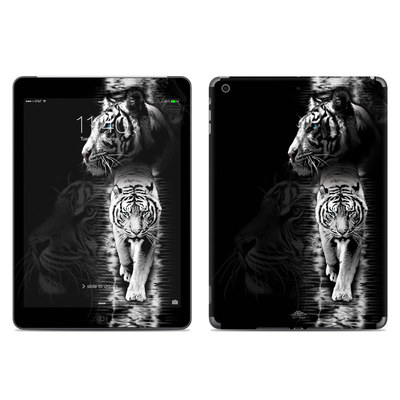 Apple iPad Air Skin - White Tiger
